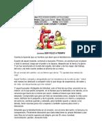 REFLEXION SOBRE LA FELICIDAD GRADO10 2020