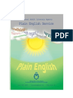 Plain English Service