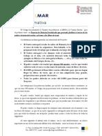 Nota Informativa Proyecto Material Socializado
