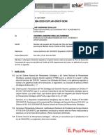 Informe 090 Mp Mariscal Ramon Castilla Loreto