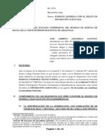 ESCRITO DE QUERELLA POR EL DELITO DE DIFAMACION AGAVADA - LISTO - PRESENTAR