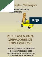 Reciclagem Curso Op. Empilhadeira 08