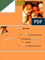 Psychologie de l'enfant et de l'adolescent