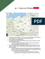 Guía de viaje - Cracovia, Polonia