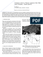 Rock mass instability evaluation at the La Volcana segment of the Valle de Aburrá – Río Cauca road, Colombia – South America