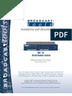 Manual SRC-16