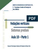 Aula 18 Produção VV - sistemas prediais e esquadrias 2020.pdf