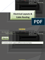 4-Electrical layouts & Cable routing