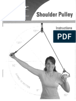 Norco Shoulder Pulley Pamphlet User Guide Owners Manual Instruction Booklet