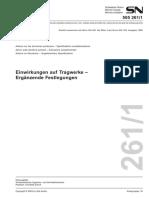 261-1_Azioni sulle strutture portanti Disposizioni complementari_TEDESCO