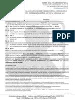 chestionar de RISC COVID19 - iulie 2020 - MHG