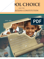 School Choice and the North Carolina Constitution