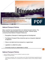 Unit 3 National and regional transport policies - Face to Face.pptx