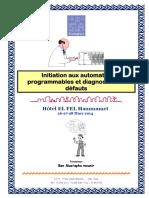 Initiation aux automates programmables et diagnostic des défauts