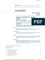 DTU14.1 travaux de cuvelage P2