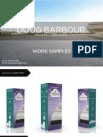 Doug Barbour's Work Samples- Packaging Designer