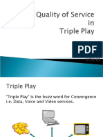 quality of service in triple play