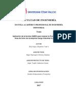 APLICACIÓN DE LA TÉCNICA SMED PARA MEJORAR LA PRODUCTIVIDAD- corección