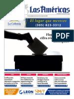 DIARIO LAS AMÉRICAS Portada digital del miércoles 21 de octubre de 2020
