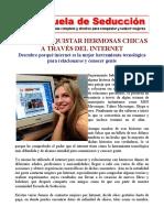 COMO CONQUISTAR HERMOSAS CHICAS A TRAVES DEL INTERNET - ESCUELA DE SEDUCCION.pdf