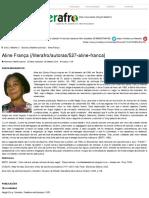 Aline França - Literatura Afro-Brasileira