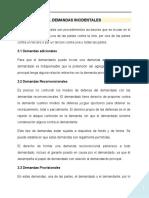 DEMANDAS INCIDENTALES1
