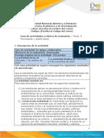 Formato-Guia de actividades y Rúbrica de evaluación tarea- Unidad 2 - Tarea 3 - Formulación y diseño social.pdf