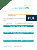 Grammar Fr
