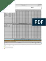 Programa de mantenimiento FE BS F 0042