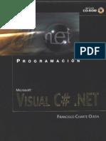 Programación, Microsoft Visual C# .NET - Francisco Charte Ojeda
