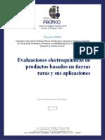 Reporte M2 UNACAR - PACIFICO (A1697-1) Evaluaciones electroquímicas