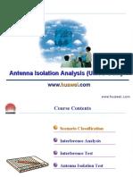 C18 WCDMA RNP Antenna Isolation Analysis (UMTS-GSM).ppt