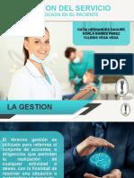 Gestión del Servicio Enfocado en el Paciente