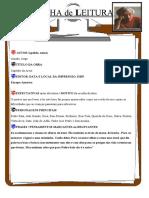 Ficha de Leitur dois