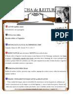 Ficha de Leitura seis