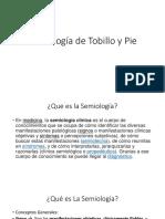 17- Semiologia Global del Tobillo Pie