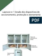 Dispositivos de Seccionamento e Proteção