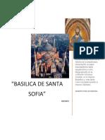 Reporte Basilica de Santa Sofia.docx