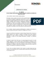 16-10-20 Exhorta Órgano Intersecretarial a cumplir protocolos sanitarios en estadios de beisbol de la LMP