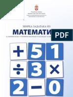 Збирка задатака из МАТЕМАТИКЕ за завршни испит у основном образовању и васпитању за школску 2010/2011.