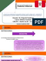 DESASTRES NATURALES EN EL PERÚ (1)
