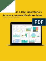 Lab 1 - Accessing and Preparing Data