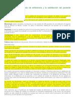 Dimensiones del cuidado de enfermería y la satisfacción del paciente adulto hospitalizado