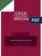 SEMANA 2. MATERIAL DE LECTURA POLITICA DE PRODUCTOS Y PRECIOS(1)