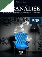 Livro_psicanálise-Informações Básicas Sobre Formação e Profissão