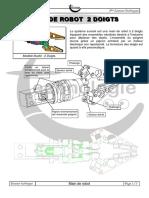 Devoir de contrôle N°1 (DT) - Technologie - 3ème Tech (2009-2010) Mr Jemmali Hassen Main de Robot
