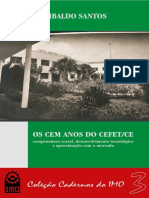 OS 100 ANOS DO CEFET - EBOOK