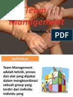 Managemen Team