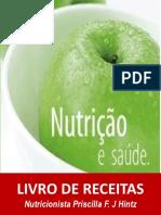 LIVRO DE RECEITAS SAUDÁVEIS DA NUTRI