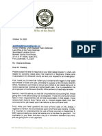 BSO Sheriff Gregory Tony letter to public defender